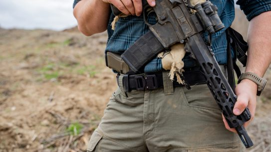 Rugged and strong, Galco EDC Belts work for training or everyday carry.