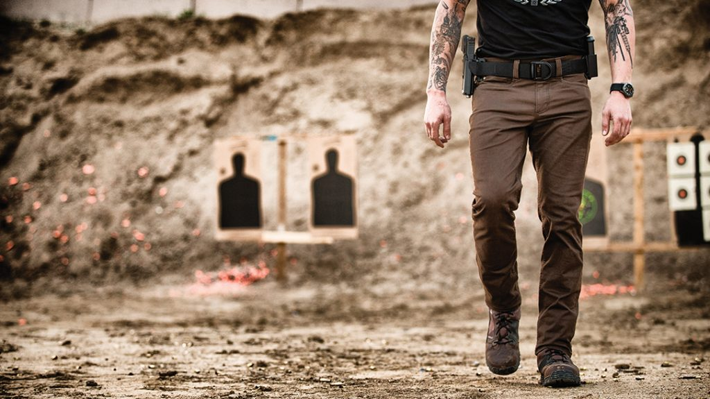 5.11 offers a wide array of clothing suited for range use or concealed carry.