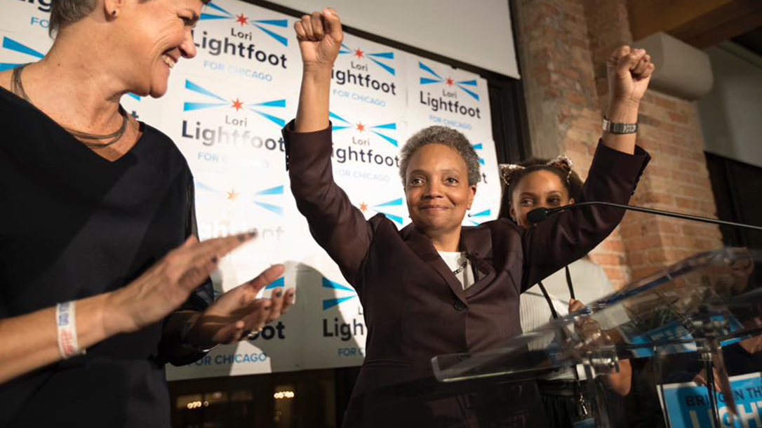 Lori Lightfoot Joe Biden Gun Control
