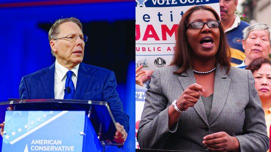 NRA Lawsuit, New York Attorney General Dissolve NRA, Wayne LaPierre, Letitia James