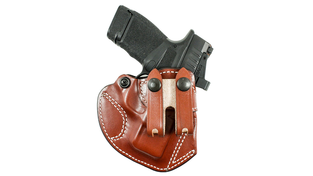 The DeSantis Cozy Partner now fits Springfield Armory Hellcat pistols.