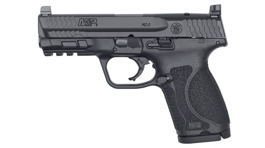 The new S&W M&P9 M2.0 Compact OR ships with seven different optics mounting plates.