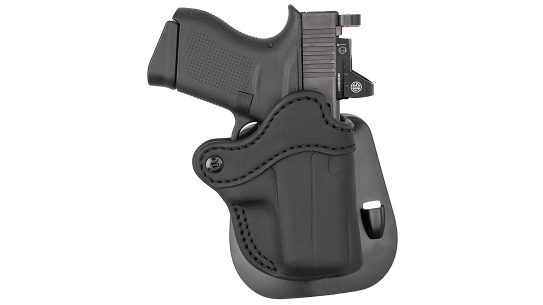 Two new 1791 Gunleather holsters fit Glock MOS platforms.