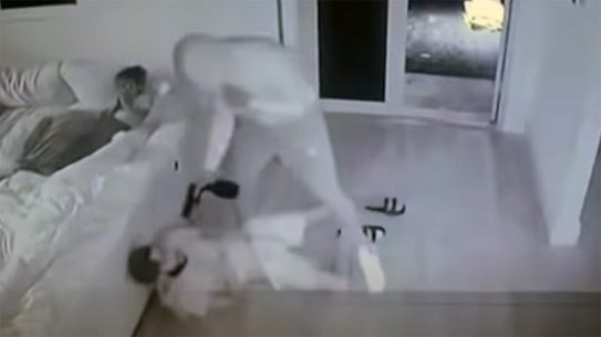 A Miami mom grabbed a pistol and defended her family from armed intruders.