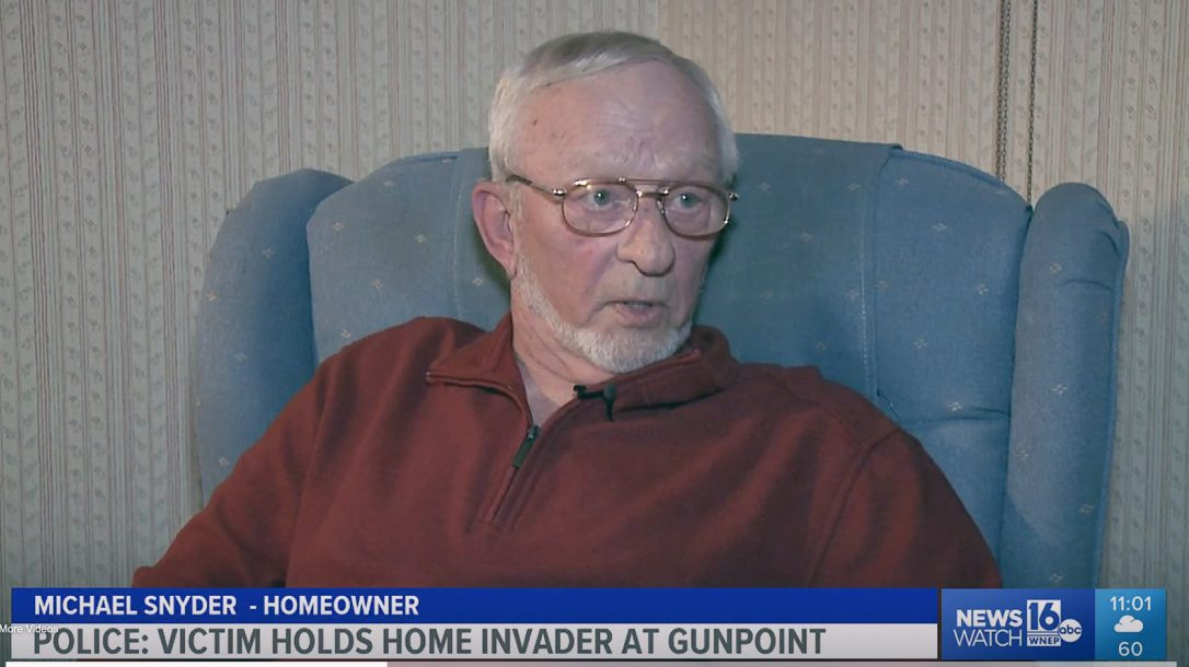 Michael Snyder, 72-year-old Vietnam War veteran held off a home intruder in Pennsylvania.