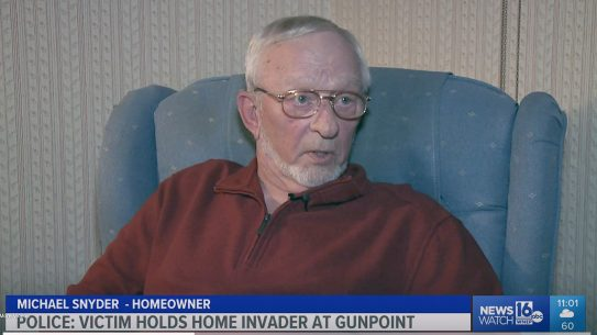 Michael Snyder, 72-year-old Vietnam War veteran held off a home intruder in Pennsylvania.