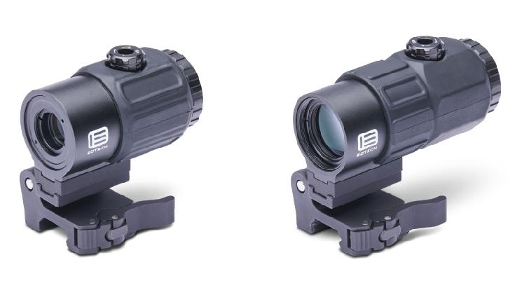 EOTech magnifiers greatly increase engagement distance rapidly.