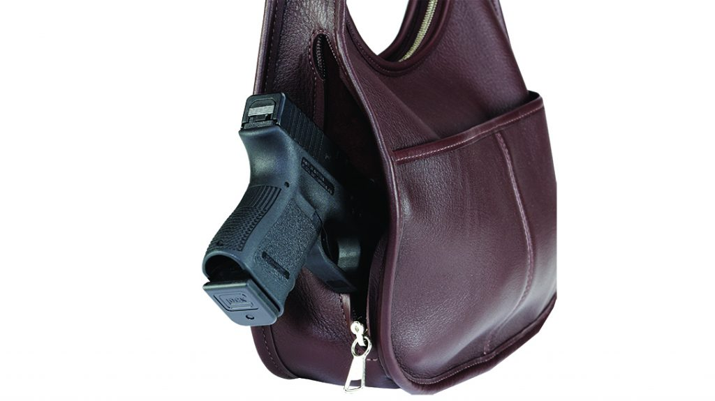 A firearm turns a concealed carry holster into a form of holster.