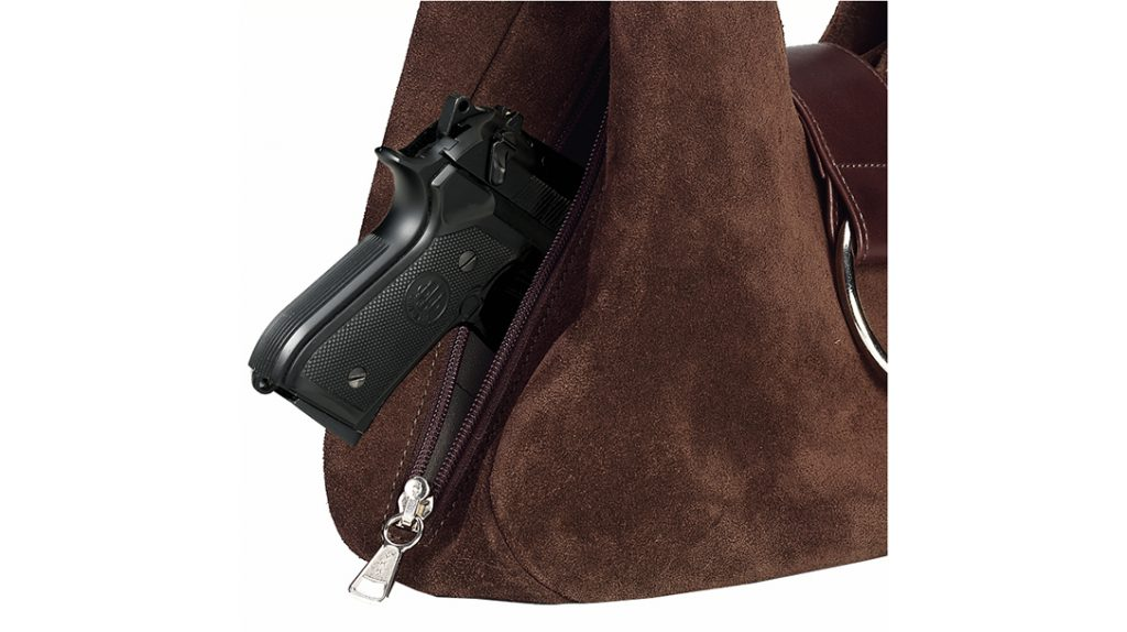 Access in a concealed carry purse is a key issue.