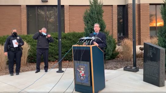 Wauwatosa Mayor Dennis McBride, Mayfair Mall Shooting, no gun policy