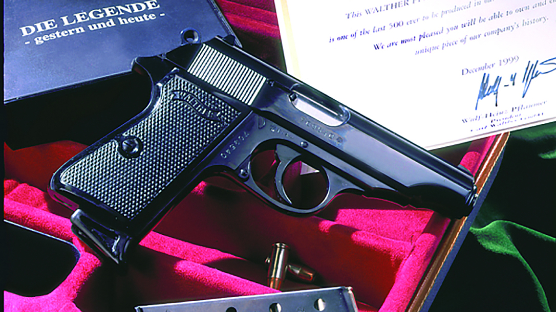 The Walther PP pistol used in 'Dr. No' brought more than $250k at auction recently.