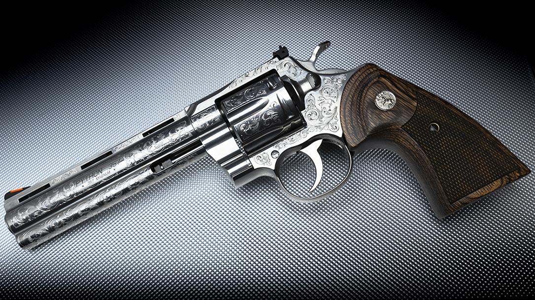 Davidson S Unveils New Engraved Colt Python Revolver In 357 Magnum Personal Defense World