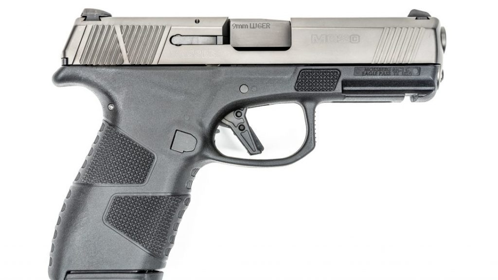 The follow up pistol from Mossberg, the MC2c, is designed for concealed carry.