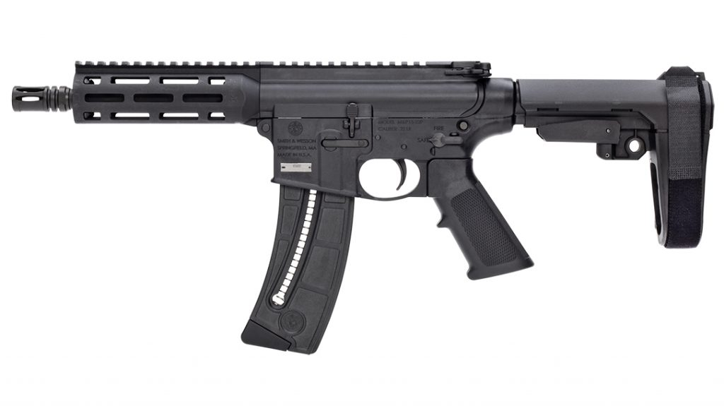 Compact and lightweight, the Smith & Wesson M&P15-22 makes a bold return.