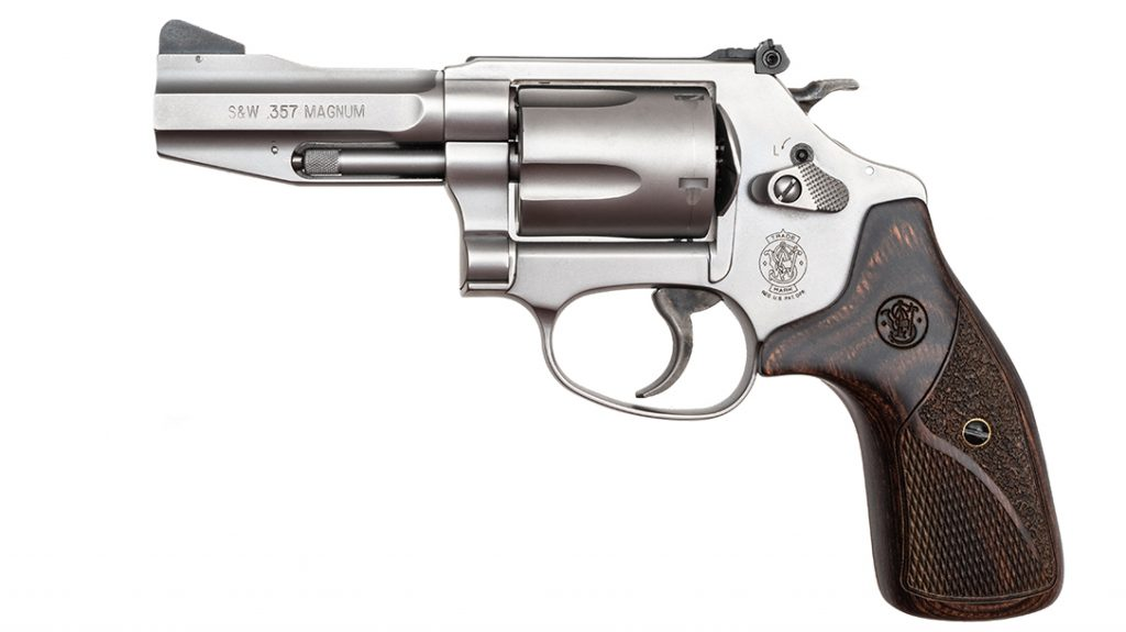 A more traditional entry, the Model 60 features enhancements from the S&W Performance Center.