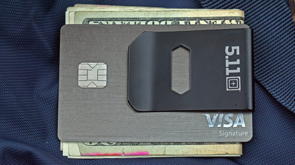 While most gear centers on tactical or working pursuits, the money clip just helps you stay organized.