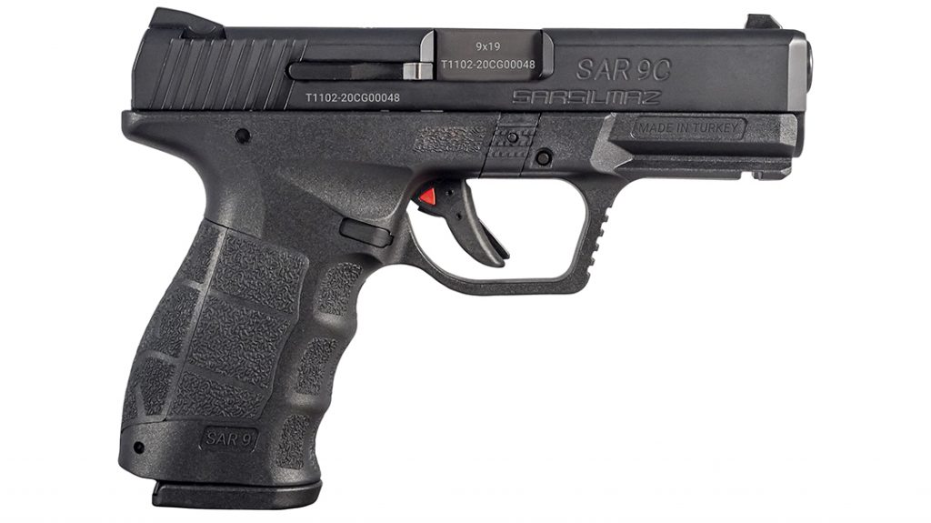 The SAR9 Compact delivers the same high-capacity in a smaller package designed for concealed carry.