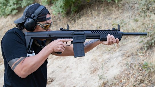 The pump-action Blackwater Sentry 12 is built to run.