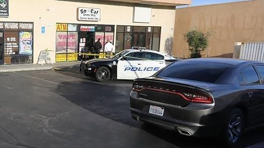A smoke shop clerk shot and killed an armed robber in California.