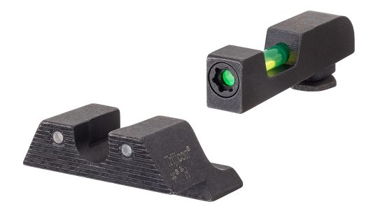 The Trijicon DI Night Sights improve target acquisition, day or night.