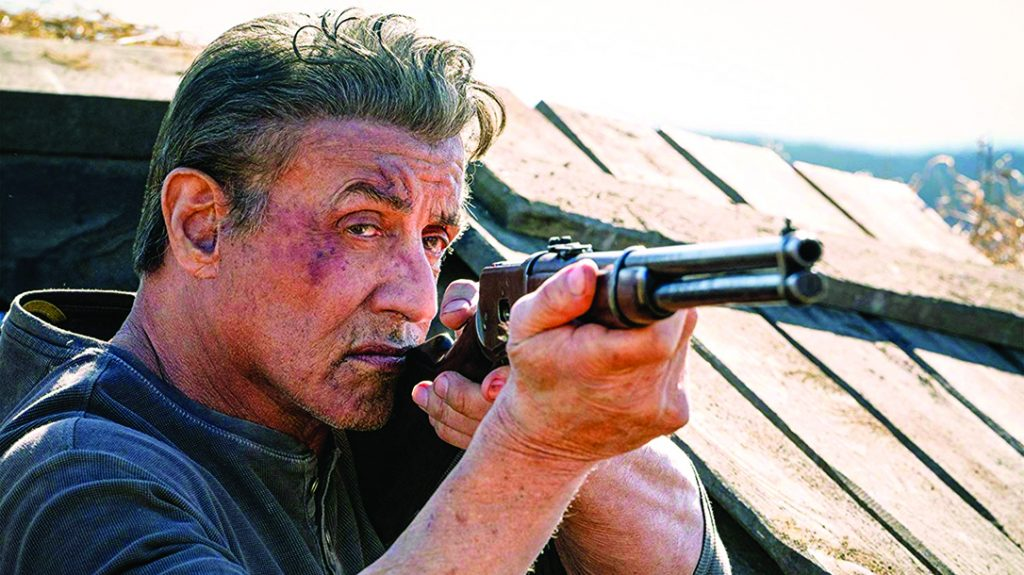 home defense plans, In Rambo: Last Blood, Sly rocked a vintage lever-action rifle.