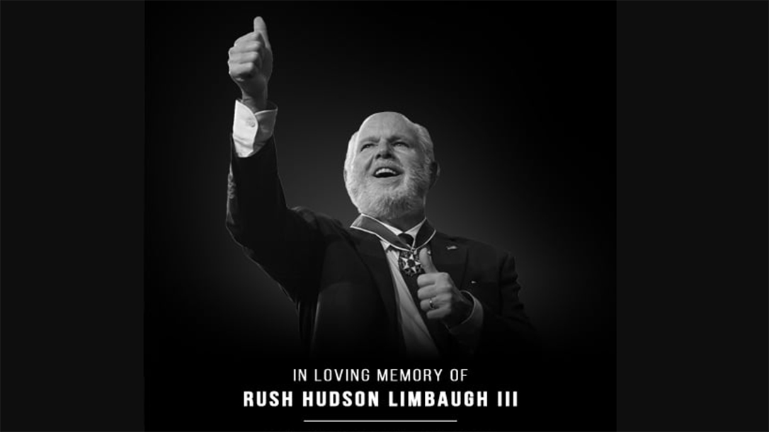 The 2A community lost an advocate with the passing of Rush Limbaugh.