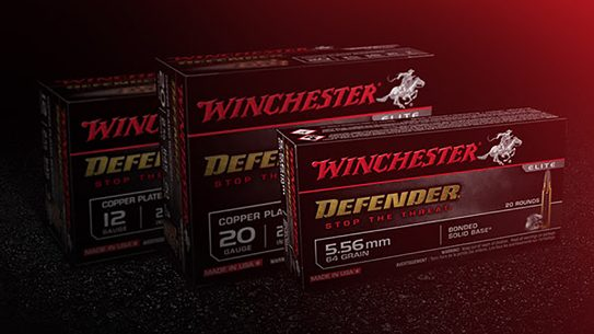 The Winchester Defender ammo line adds 12-gauge, 20-gauge and 5.56mm loads.