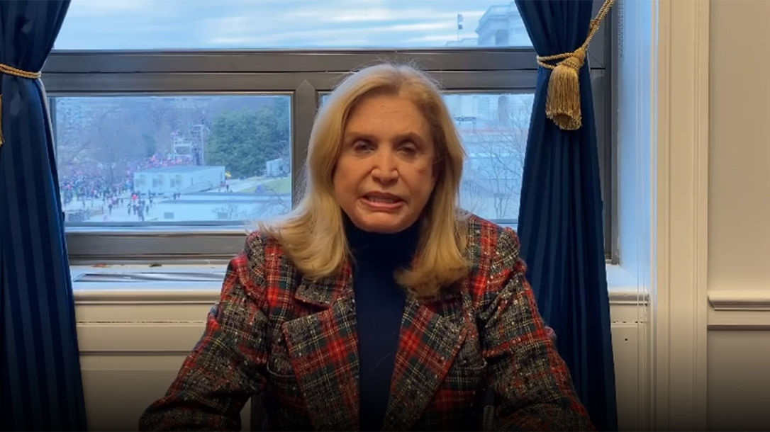 Carolyn Maloney Gun Control Bills, legislation