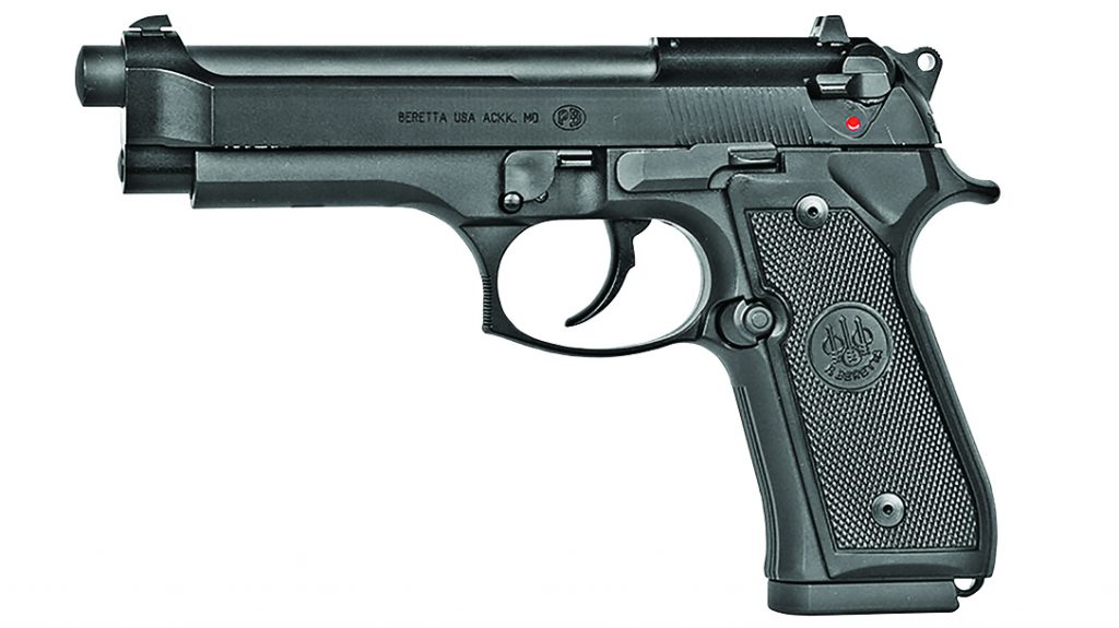 The Beretta M9A1_22 looks and functions just like the venerable M9, only in a rimfire platform.