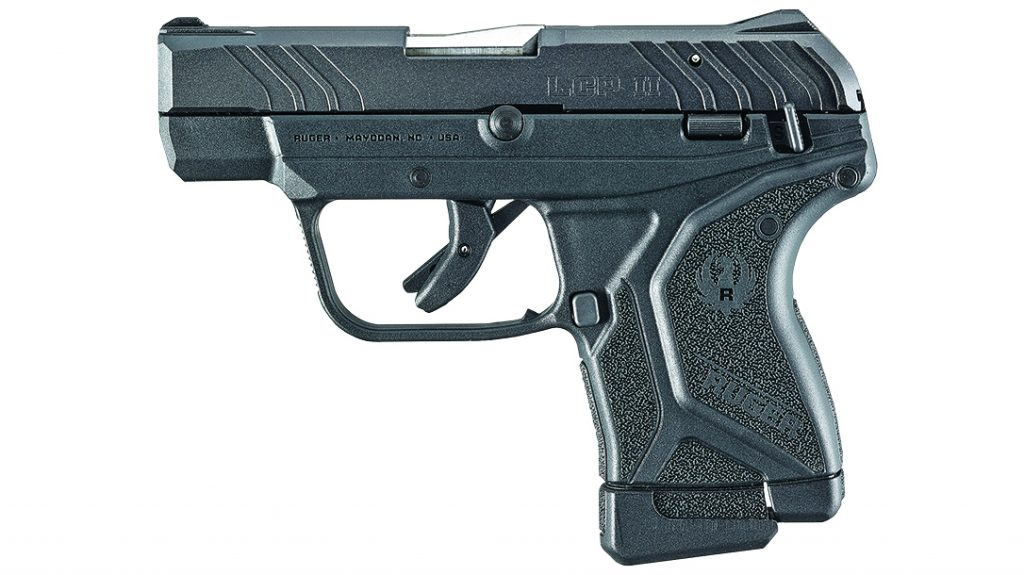 The Ruger Lite Rack LCP II is a low-recoil pistol that features an easy-to-manipulate slide that shoots comfortably regardless of hand size or strength.