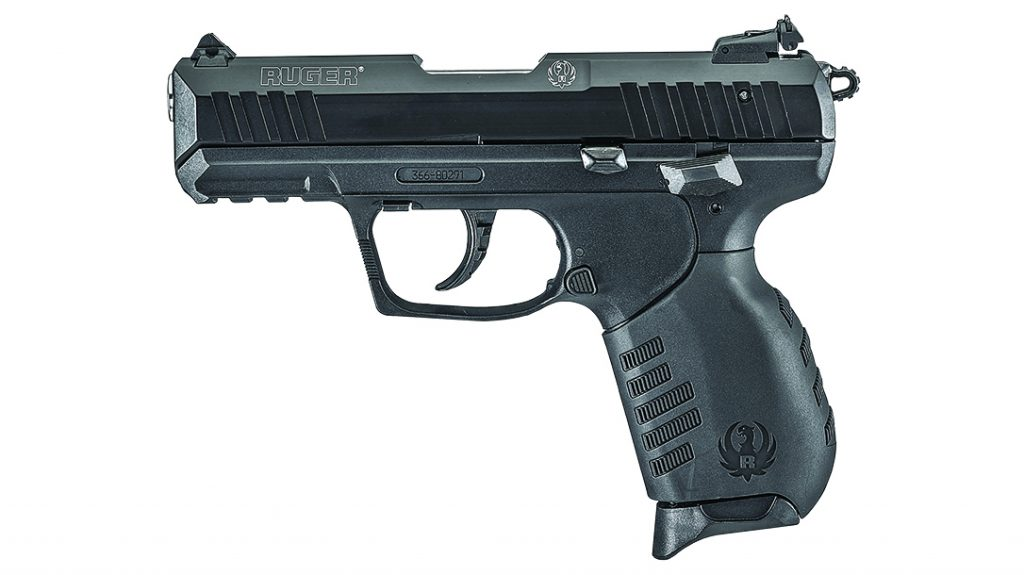 The Ruger SR22 has an ambidextrous manual safety to prevent accidental firing.