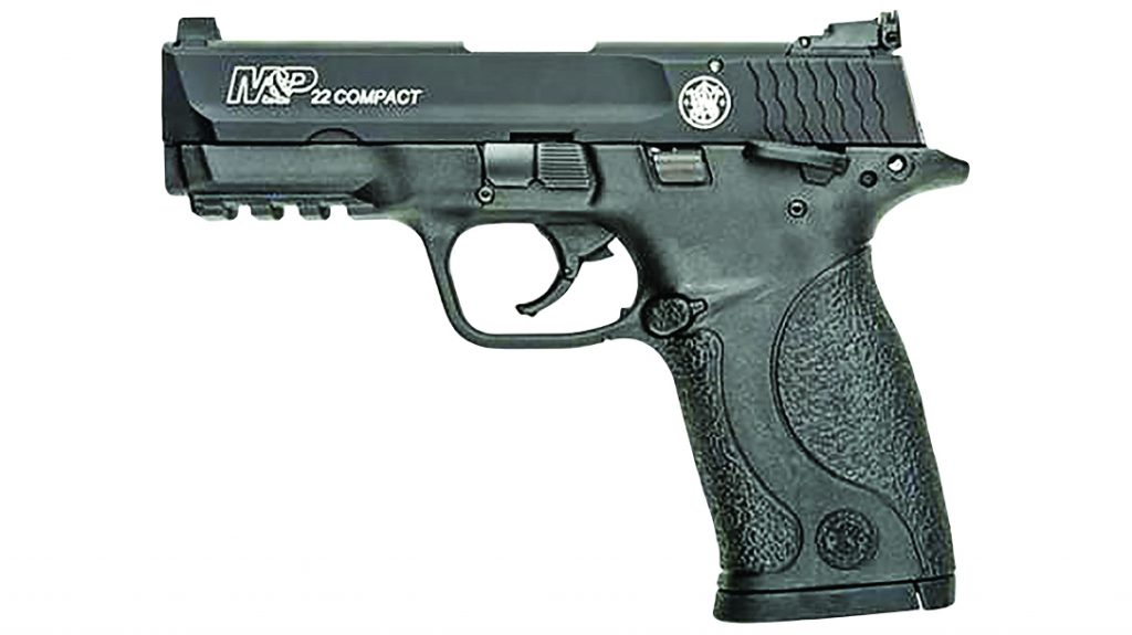 The Smith & Wesson M&P22 Compact comprises a reduced-sized M&P platform.