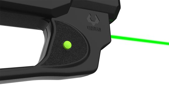 The Viridian E-Series laser brings enhanced target acquisition to the Ruger MAX-9 pistol.