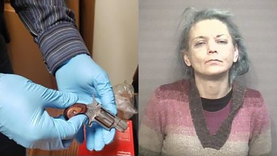 Amy Wilhite allegedly used a body cavity to sneak a gun behind bars.