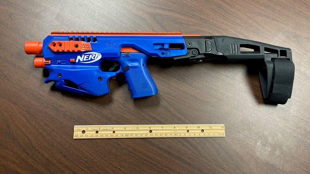 Glock nerf gun, CAA MCK Conversion Kit, micro