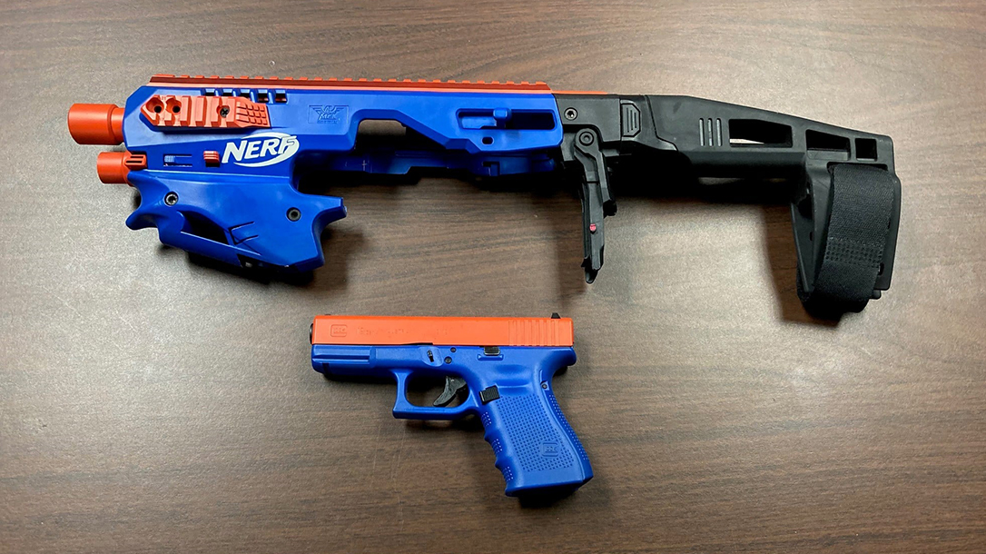 Suspect Used CAA Conversion Kit to Disguise Glock as Nerf Gun – Personal Defense World
