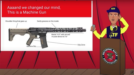 A new ATF video cartoon completely makes fun of the agency.
