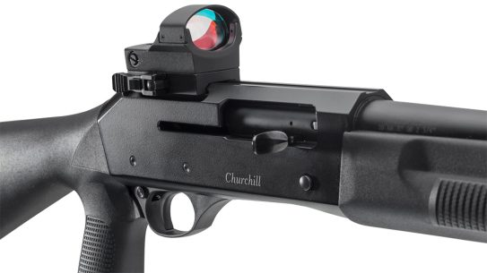 The EAA Churchill Optics Tactical shotguns bring home defense features at a reasonable price.