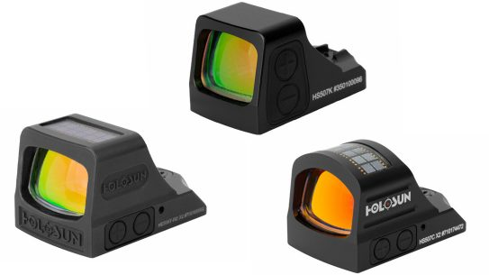 The Holosun X2 series brings lots of features for defensive use.