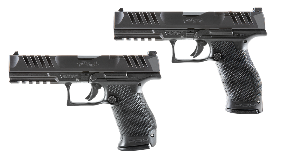 The Walther PDP line now features 5-inch models in Compact and Full Size.