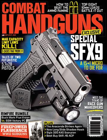 Combat Handguns Sept/Oct 2021