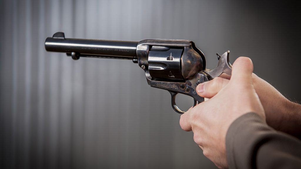 Large, soft point bullets make good fight stoppers in revolvers.