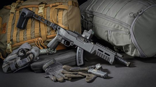 The SB Tactical SB22 brings a versatile chassis to 10/22 and 22 Charger guns.