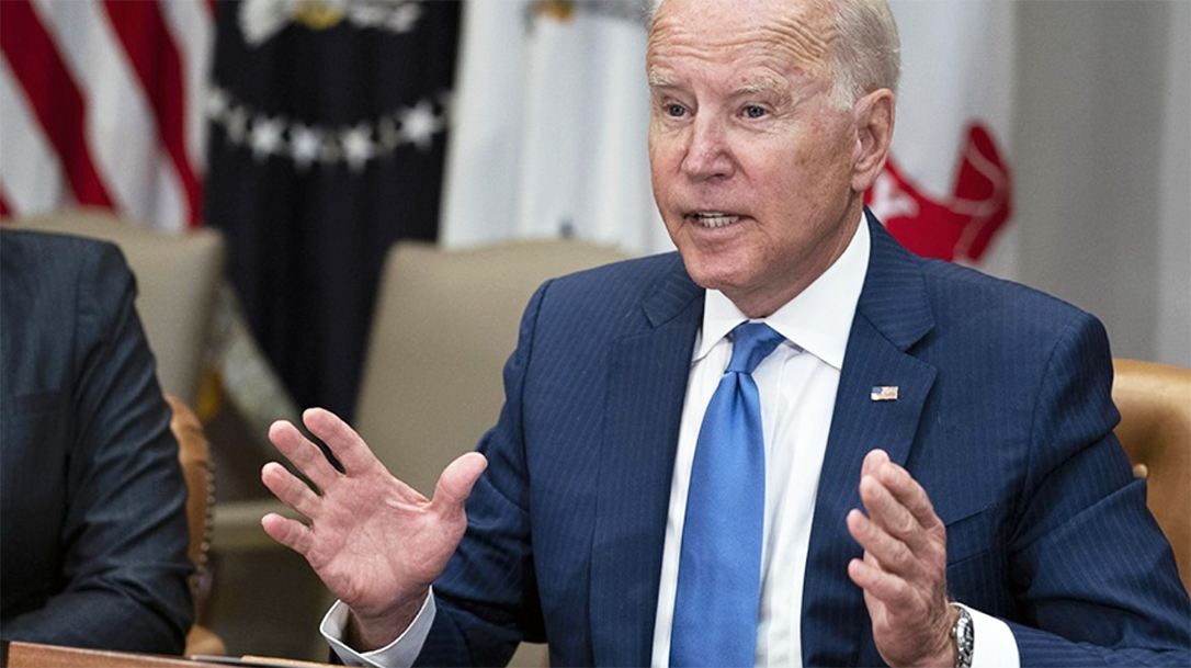 Joe Biden keeps trying to fight rising crime with more gun control.