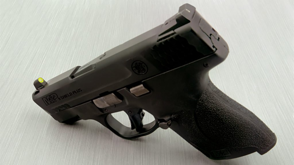 Smith & Wesson M&P Shield with XS pistol night sights