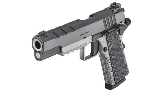 The Springfield Armory comes built for defensive use.