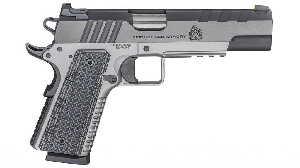 The Springfield Emissary bridges the gap between duty and custom gun.
