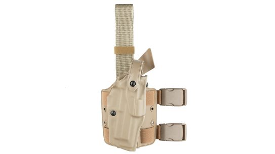 New Safariland HK holster fits accommodate compact weapon lights.