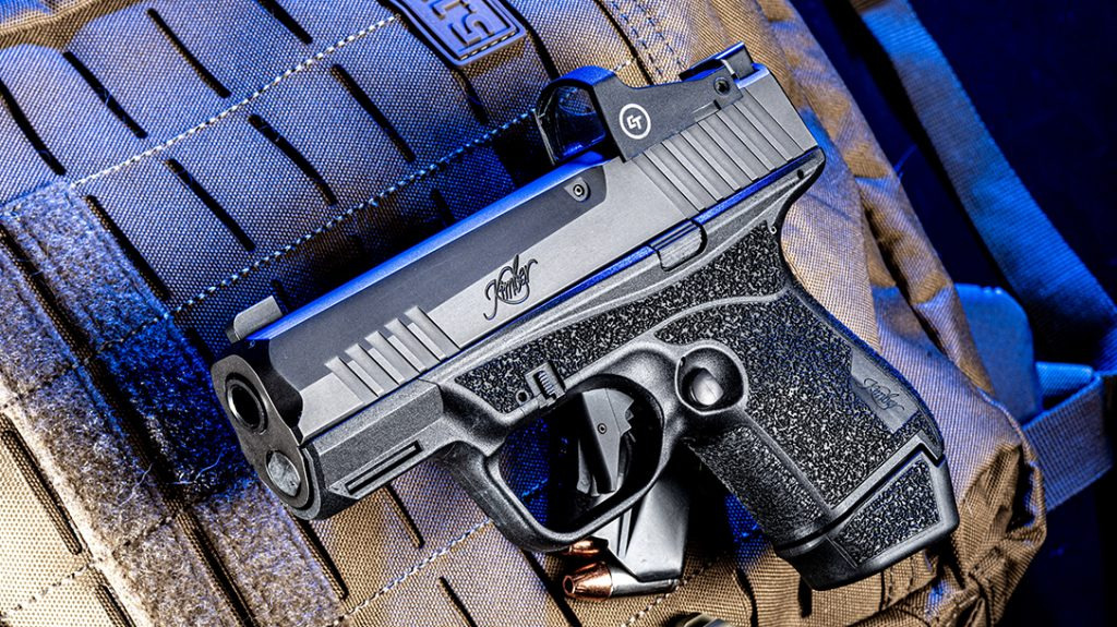 The new Kimber R7 Mako delivers 13+1 rounds of 9mm in a subcompact design.