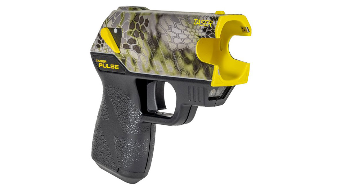 The new Taser Pulse Kryptec Edition comes in the Altitude camo pattern.